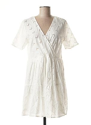 Robe courte blanc VILA pour femme
