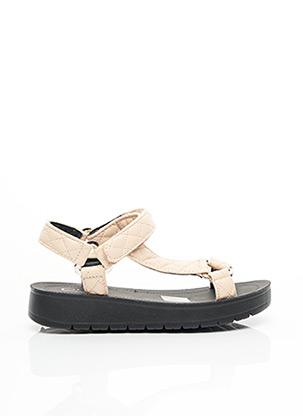 Sandales/Nu pieds beige C'M PARIS pour femme