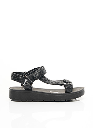 Sandales/Nu pieds noir C'M PARIS pour femme