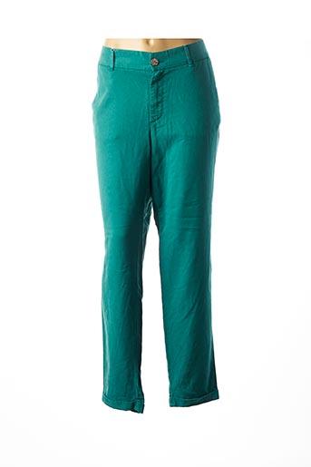 Pantalon chic vert LCDN pour femme