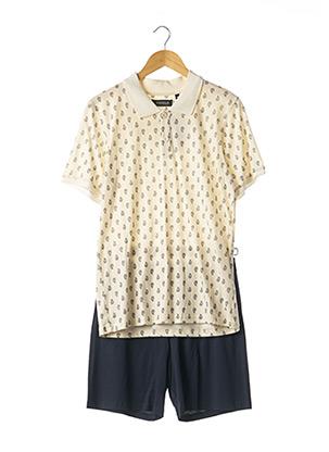 Pyjashort beige RINGELLA pour homme