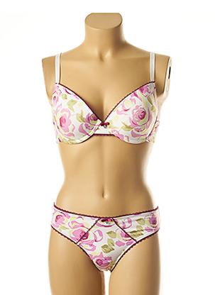 Ensemble lingerie rose SASSA pour femme
