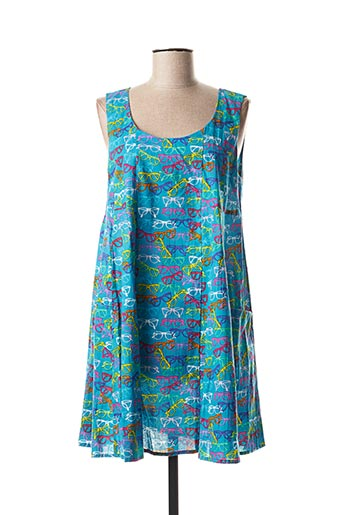 Robe courte bleu BLA-BLA pour femme