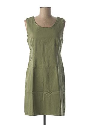 Robe courte vert MENSI COLLEZIONE pour femme