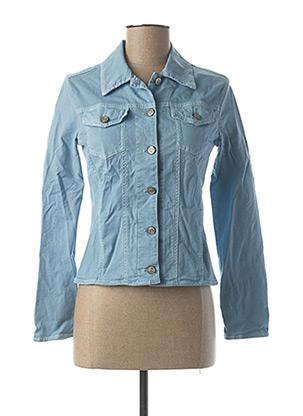 Veste en jean bleu DESGASTE pour femme