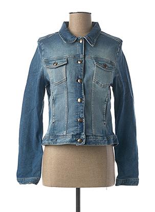 Veste en jean bleu EMMA & CARO pour femme