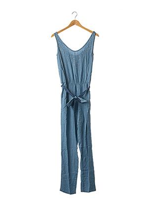 Combi-pantalon bleu PAUL BRIAL pour femme