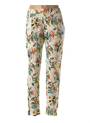 Pantalon casual beige LE PETIT BAIGNEUR pour femme