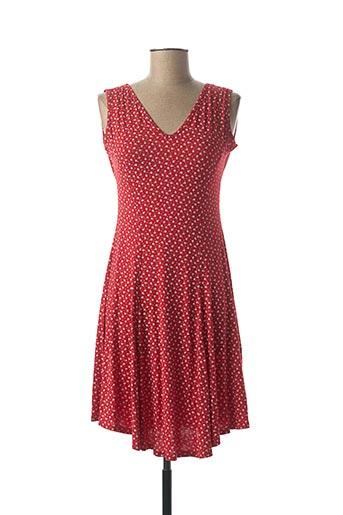 Robe courte rouge ATLANTA pour femme