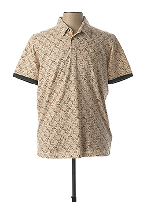 Chemise manches courtes beige NO EXCESS pour homme