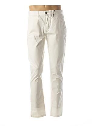 Pantalon casual blanc HERO SEVEN pour homme