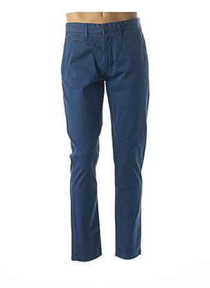 Pantalon casual bleu HERO SEVEN pour homme
