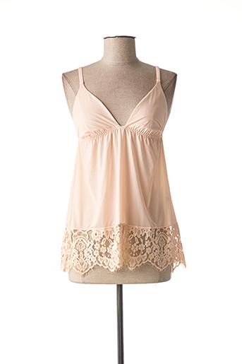 Top/Caraco rose TWINSET pour femme