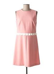 Robe mi-longue rose RED VALENTINO pour femme seconde vue