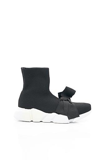 Bottines/Boots noir MY TWIN pour femme