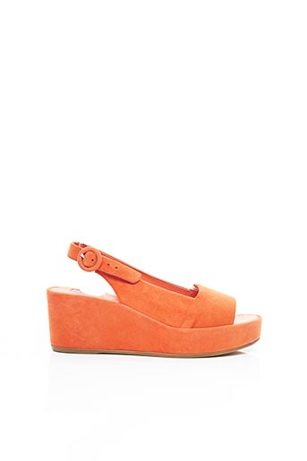 Sandales/Nu pieds orange HOGL pour femme