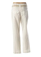 Pantalon chic blanc BEATE HEYMANN pour femme seconde vue