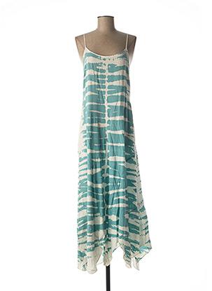 Robe longue bleu CREAM pour femme