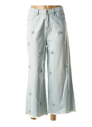 Jeans coupe large bleu MOLLY BRACKEN pour femme
