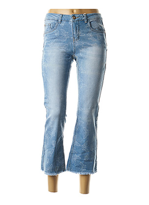Pantalon 7/8 bleu CREAM pour femme