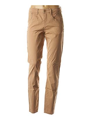 Pantalon casual beige CREAM pour femme