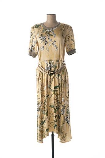 Robe longue beige BEATE HEYMANN pour femme