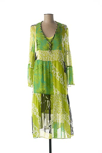 Robe longue vert SPORTALM pour femme