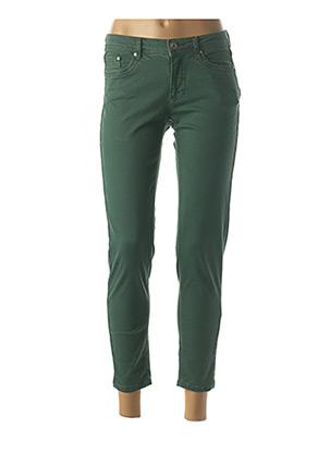 Pantalon 7/8 vert JENSEN pour femme