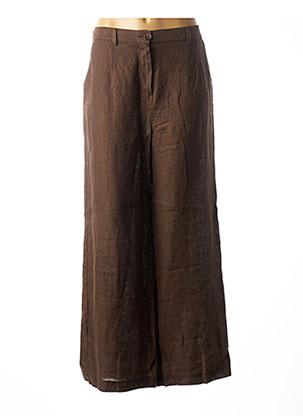 Pantalon chic marron HUMILITY pour femme
