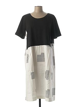 Robe mi-longue noir KOKOMARINA pour femme