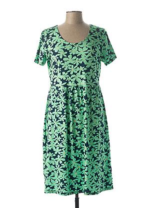 Robe mi-longue vert AGATHE & LOUISE pour femme