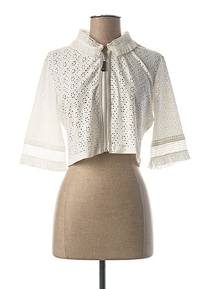 Veste casual blanc LO! LES FILLES pour femme