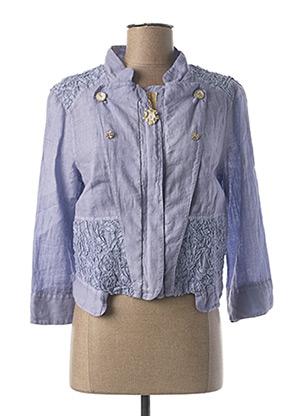 Veste casual violet ELISA CAVALETTI pour femme