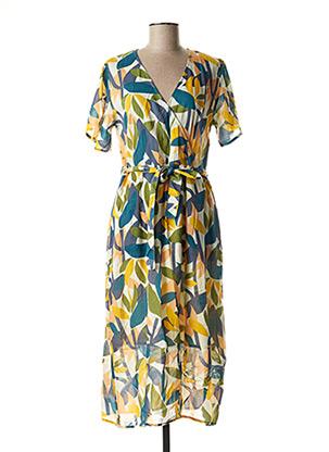 Robe longue bleu HARRIS WILSON pour femme