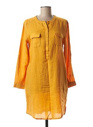 Robe mi-longue orange HARRIS WILSON pour femme
