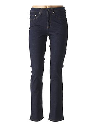 Jeans coupe droite bleu KANOPE pour femme