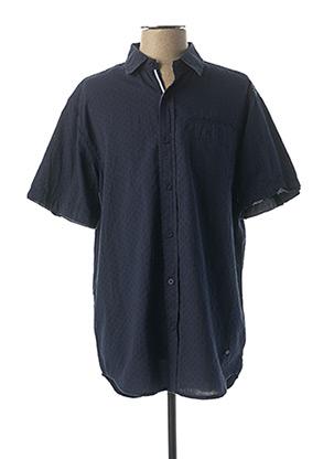 Chemise manches courtes bleu LEE COOPER pour homme