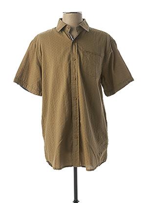 Chemise manches courtes vert LEE COOPER pour homme