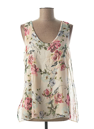 Top blanc MADE IN ITALY pour femme