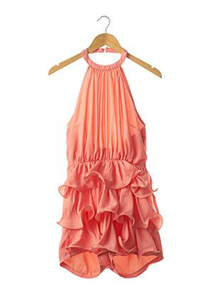 Combishort orange PRETTY LITTLE THING pour femme
