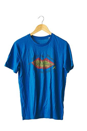 T-shirt manches courtes bleu STANLEY & STELLA pour femme