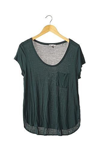 T-shirt manches courtes vert H&M pour femme