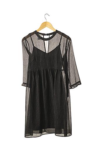 Robe mi-longue noir PROMOD pour femme