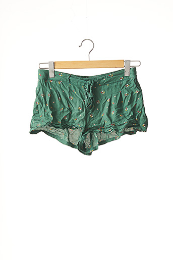 Short vert GALERIES LAFAYETTE pour femme