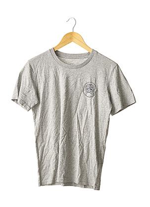 T-shirt manches courtes gris STANLEY & STELLA pour femme