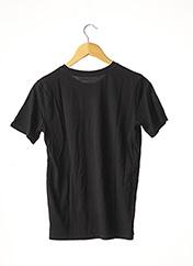 T-shirt manches courtes noir IT HAPPENED pour femme seconde vue
