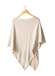 Poncho beige SENES pour femme seconde vue
