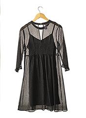 Robe mi-longue noir PROMOD pour femme seconde vue