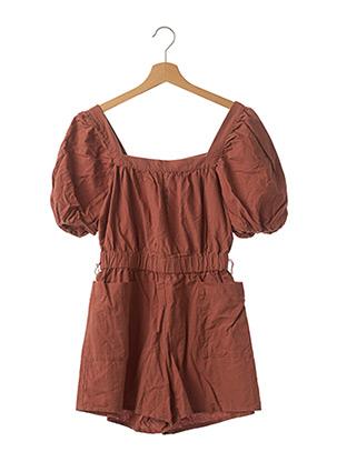 Combishort marron H&M pour femme