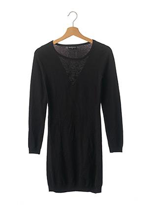 Robe pull noir BEST MOUNTAIN pour femme